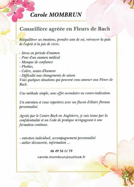 Flyer-Fleurs-Bach-Carole-Mombrun